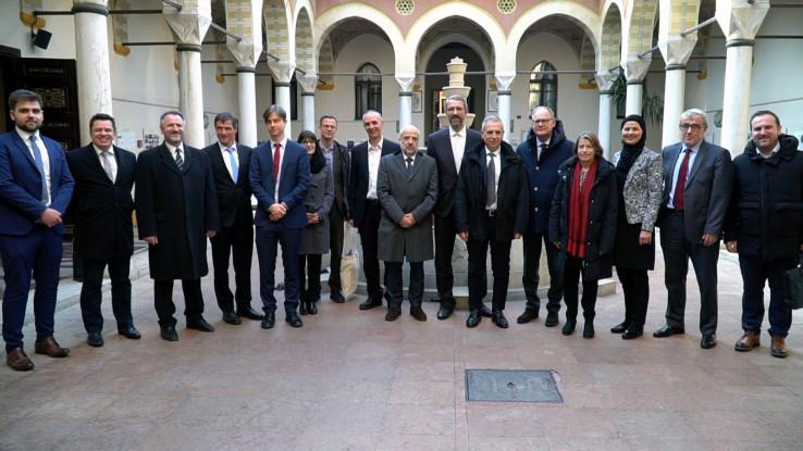 Gosti iz Njemačke posjetili Gazi Husrev-begovu biblioteku i FIN