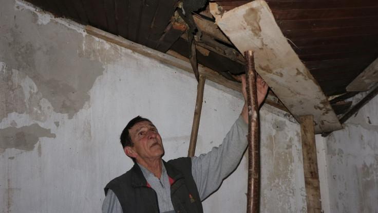 Krov podupire da ne padne