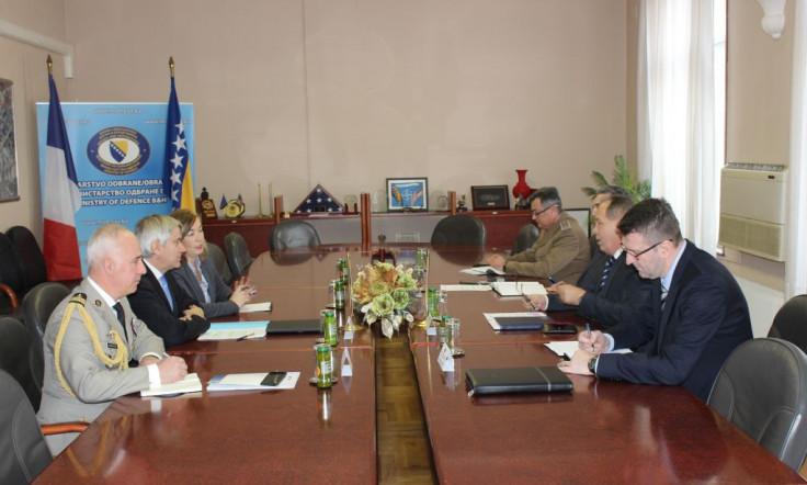 S današnjeg sastanka u Sarajevu