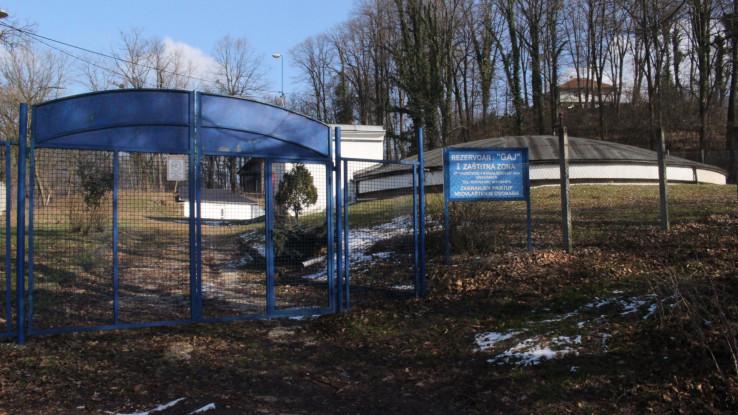 Distribucioni bazen u Gračanici: Nije bilo redukcija