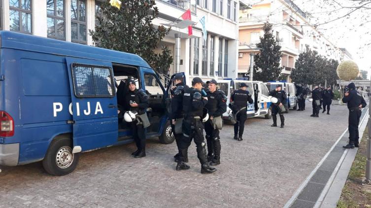 Policijski službenici pokazali su visok stepen tolerancije
