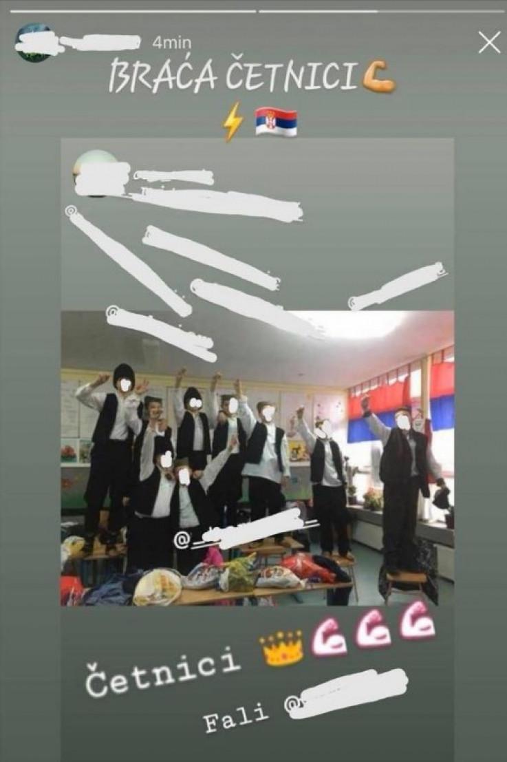 Fotografija nastala u učionici pravoslavne vjeronauke