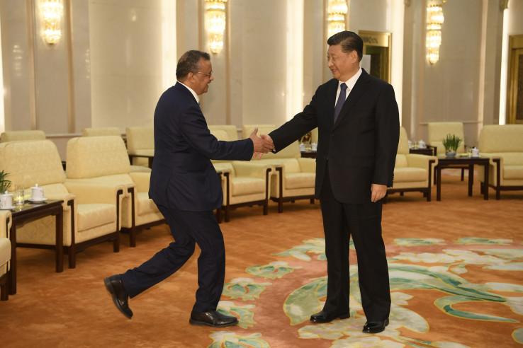Susret predsjednika sa voditeljem Svjetske zdravstvene organizacije