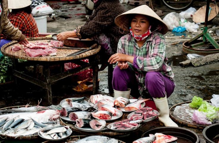 Na ovoj se pijaci prodaje mnogo više od morskih plodova