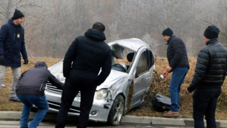 Mercedes u kojem su stradali mladići