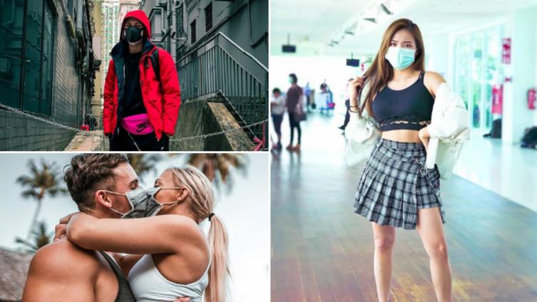 Brojni influenseri se fotografiraju sa zaštitnim maskama