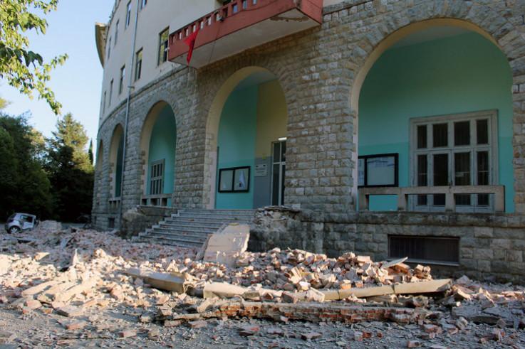 Posljedice zemljotresa u novembru 2019.