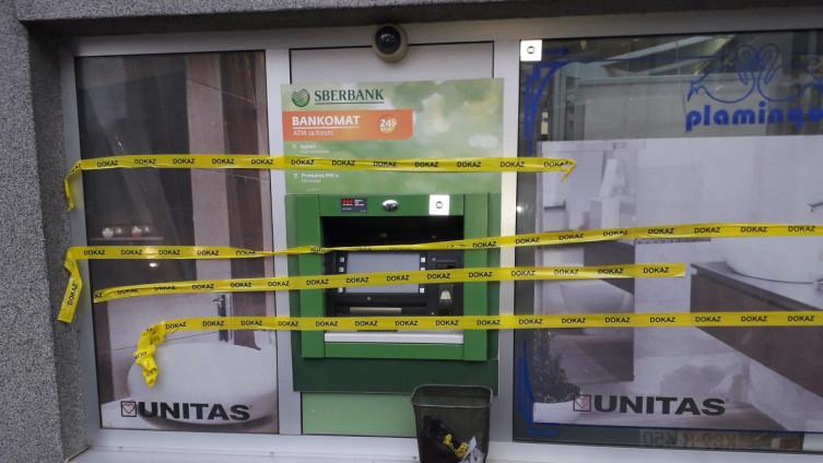 Opljačkani bankomat u Gračanici
