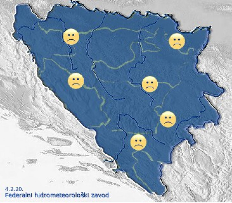 Biometeorološka prognoza nepovoljna - Avaz, Dnevni avaz, avaz.ba
