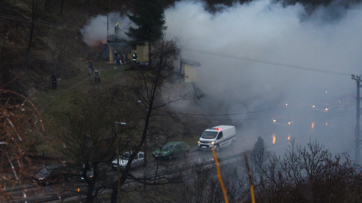 Požar buknuo u 15:30 sati