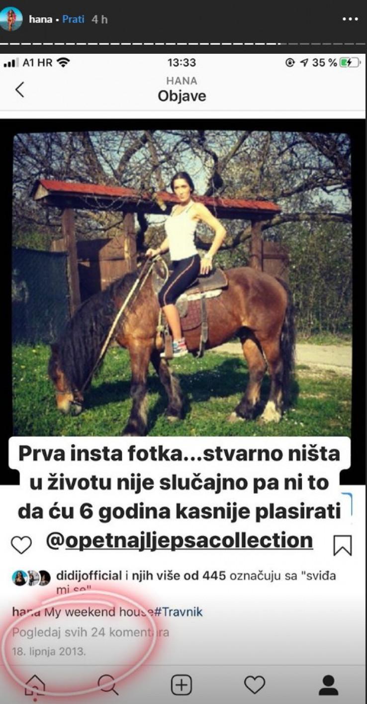Prva Hanina fotografija na Instagramu - Avaz, Dnevni avaz, avaz.ba