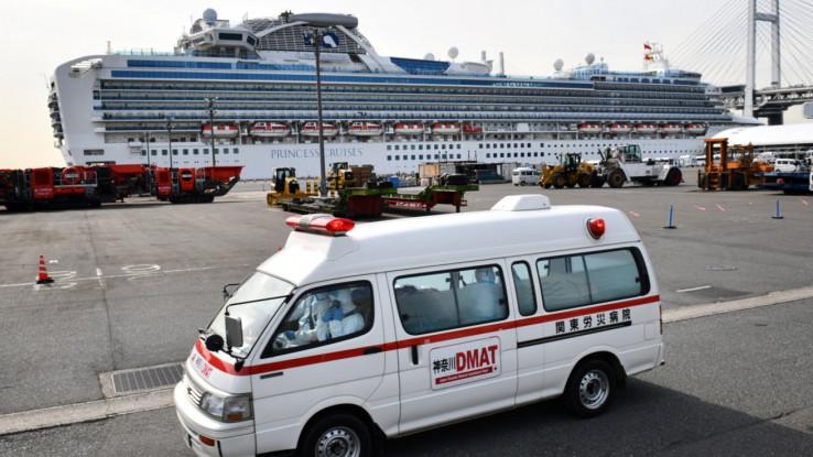 Prethodno je i jedan japanski kruzer s više od 3.700 putnika stavljen u karantin