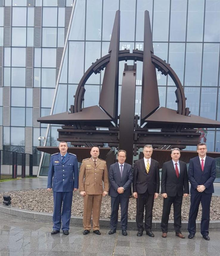 Ministar Podžić u sjedištu NATO-a