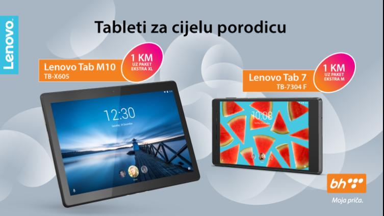 Lenovo Tab M10 tablet povoljan tablet za cijelu porodicu