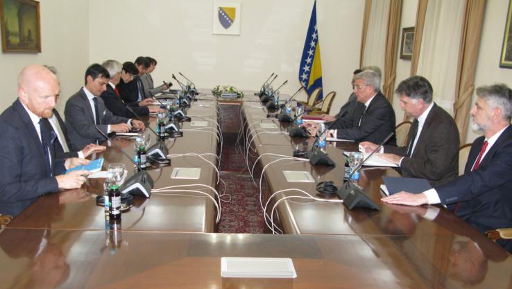 S današnjeg sastanka Džaferovića i ambasadora zemalja članica Kvinte