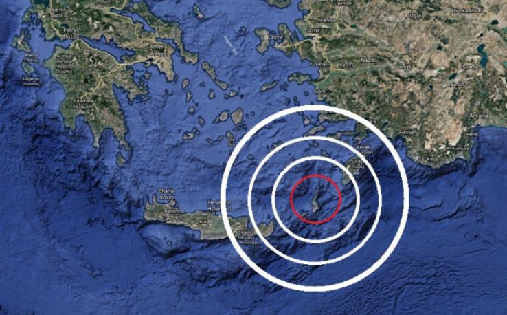 Treslo se tlo u Grčkoj