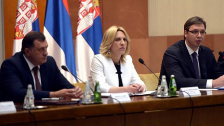 Dodik, Cvijanović i Vučić
