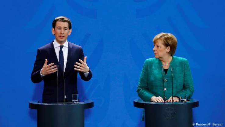 Kurz i Merkel