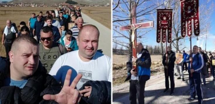 Vjernicima iz Gacka zabranjen ulaz u Crnu Goru
