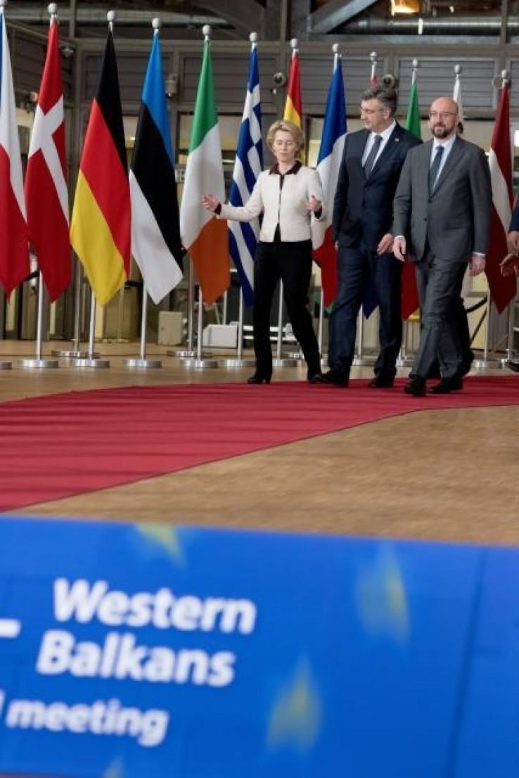 Domaćini susreta u Briselu
