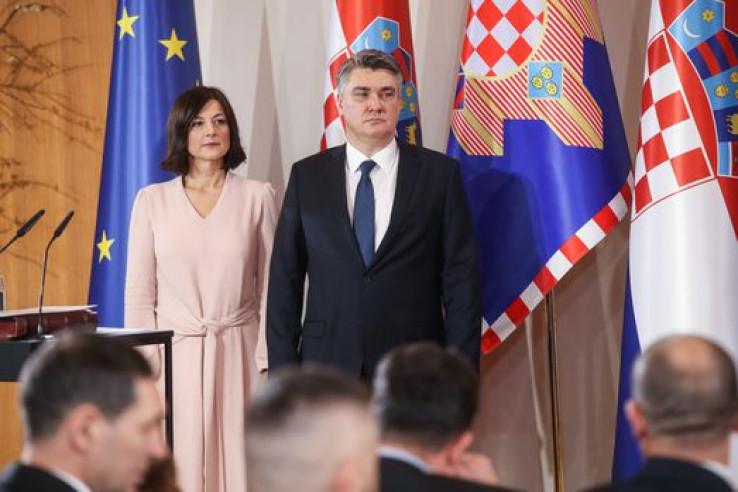 Sanja Musić-Milanović i Zoran Milanović
