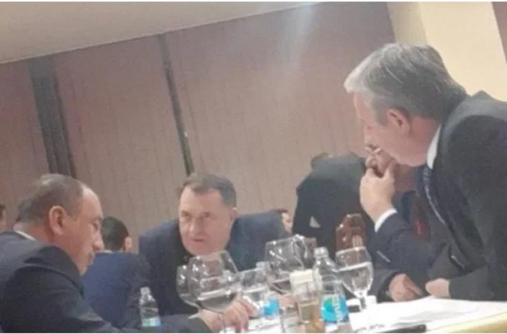 Susret Dodika i trojca iz opozicije
