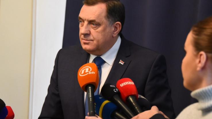 Dodik nakon sjednice Predsjedništva BiH