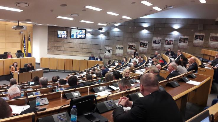 Muzika Mileta Kitića zasvirala u sali Parlamenta