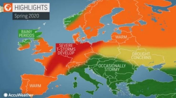 Grafički prikaz vremenskih prilika