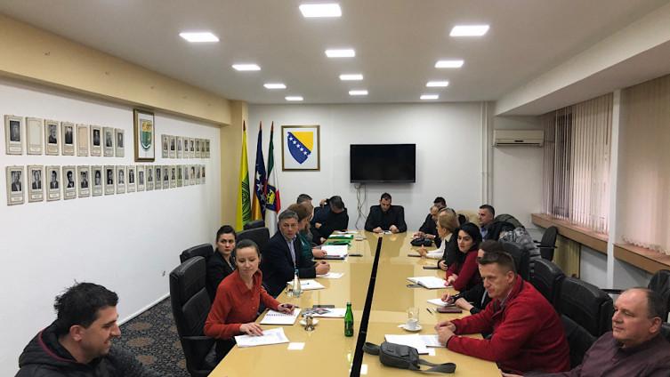 Sa sastanka vijećnika i Fuada Kasumovića