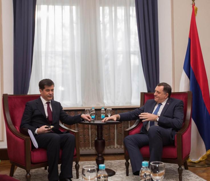 Sa sastanka Nelsona i Dodika