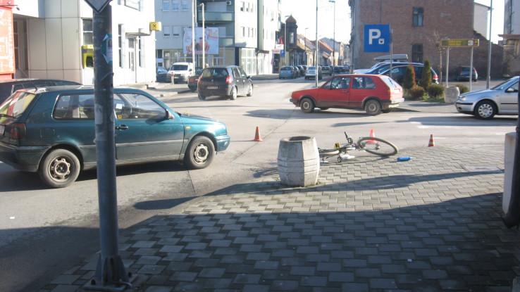 Povrijeđen biciklista