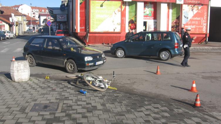 Nesreća u centru Bijeljine