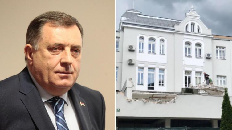 Dodik tvrdi da je SDA smještena u vili Mihaila Semijana