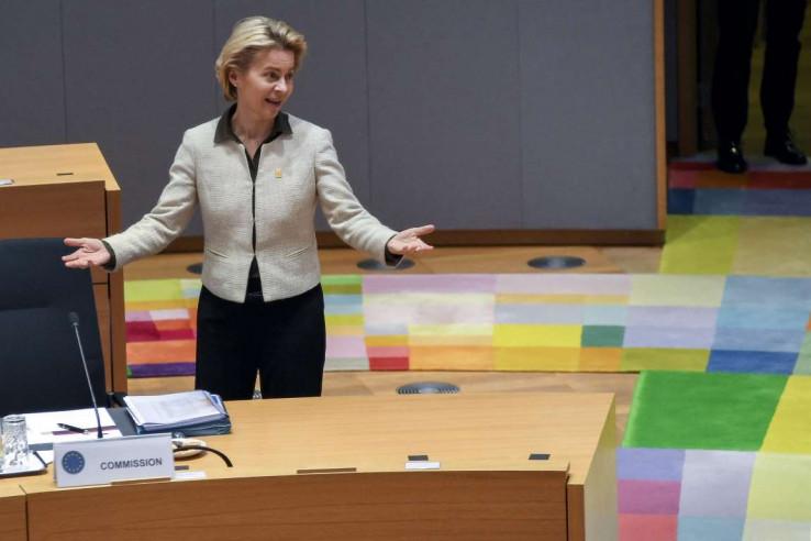 Ursula fon der Lejen, predsjednica EK