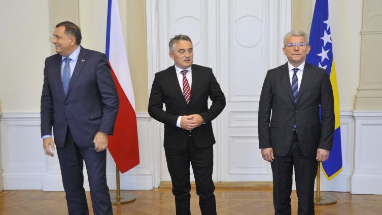 Nastavljen obračun Dodika i Komšića