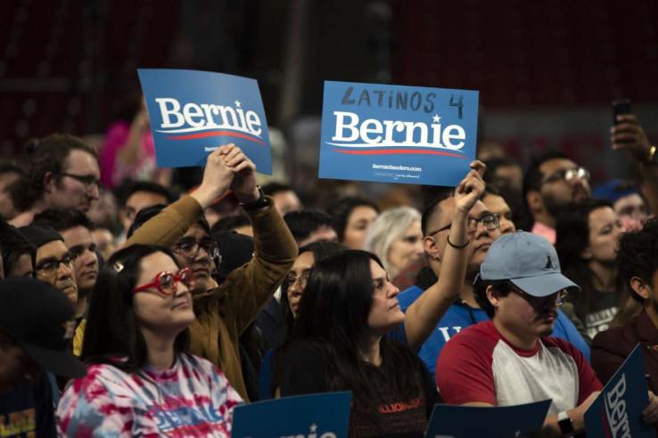 Skup na kojem je govorio Sanders