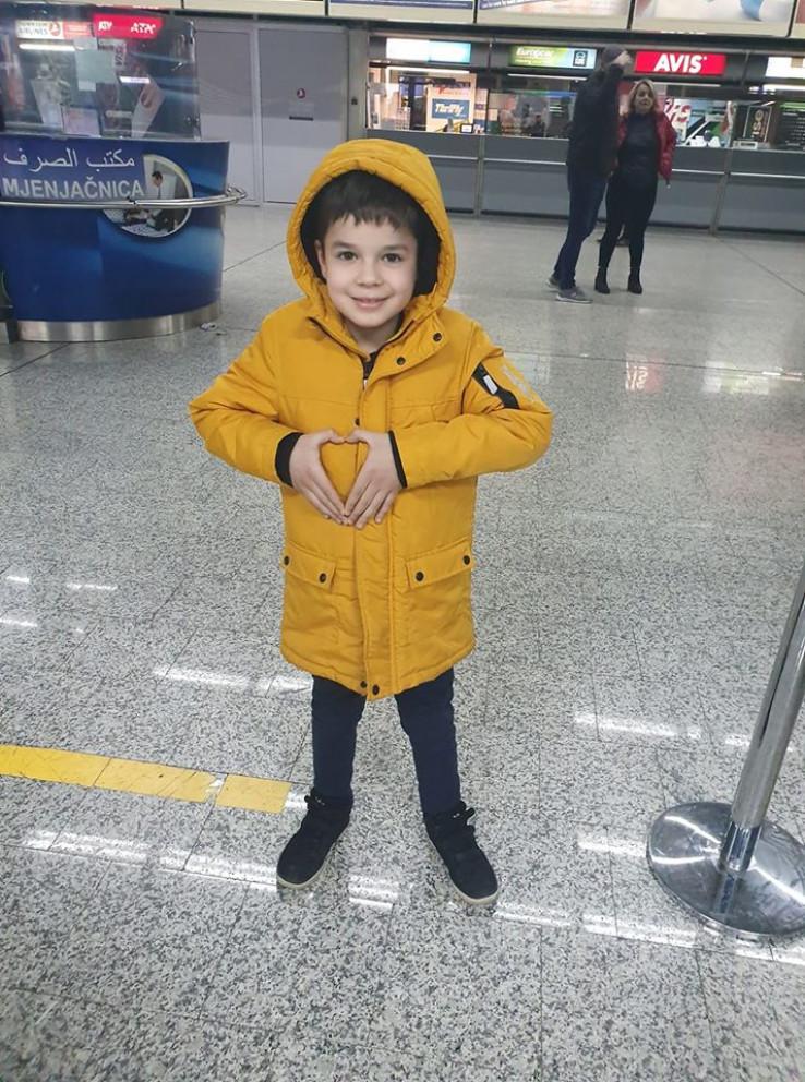 Odlazak u Istanbul: Mak šalje veliko srce svima
