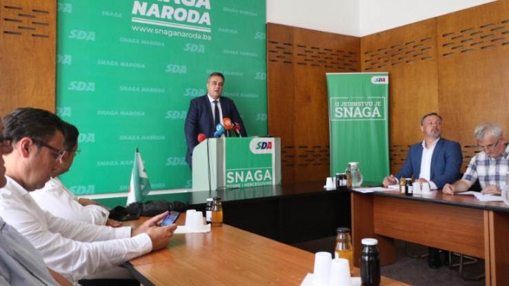 Sjednica Kantonalnog odbora SDA Sarajevo