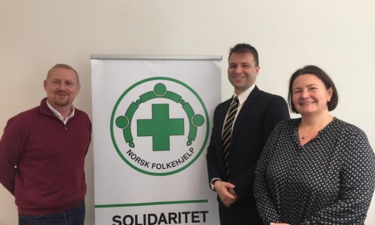 Makarević u posjeti sjedištu Misije Norveške narodne pomoći u Bosni i Hercegovin