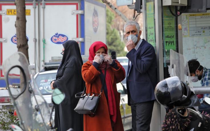 Stanovništvo u panici u Iranu