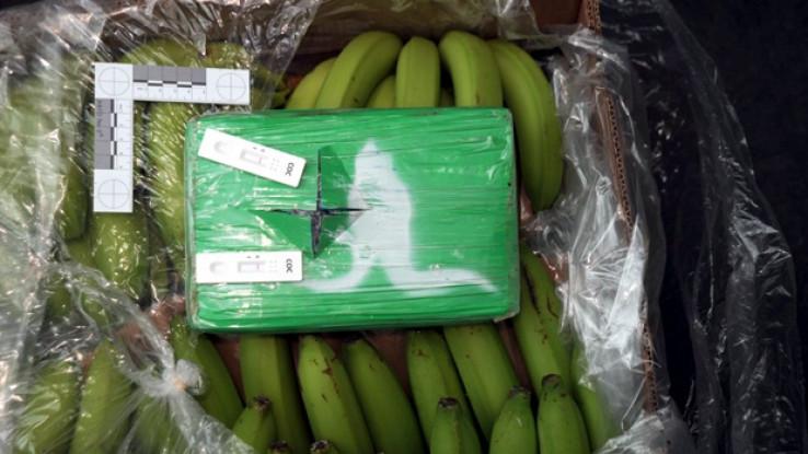 Drogu krili u bananama