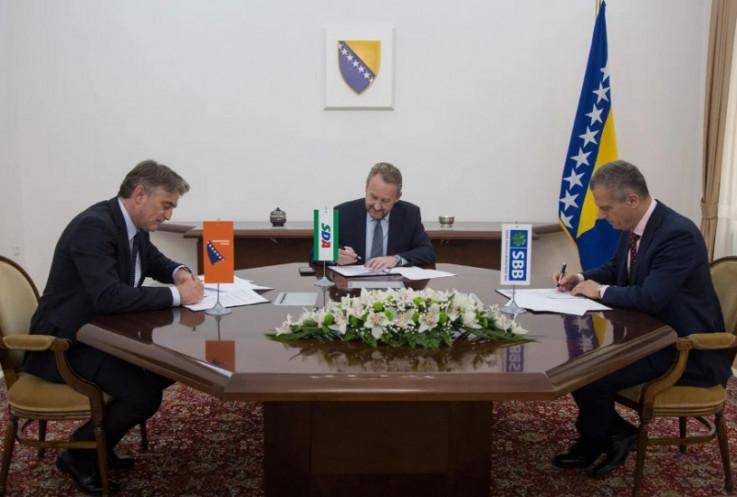 Komšić, Izetbegović i Radončić