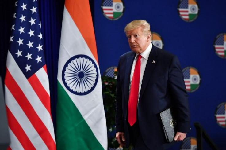 Donald Tramp u Indiji