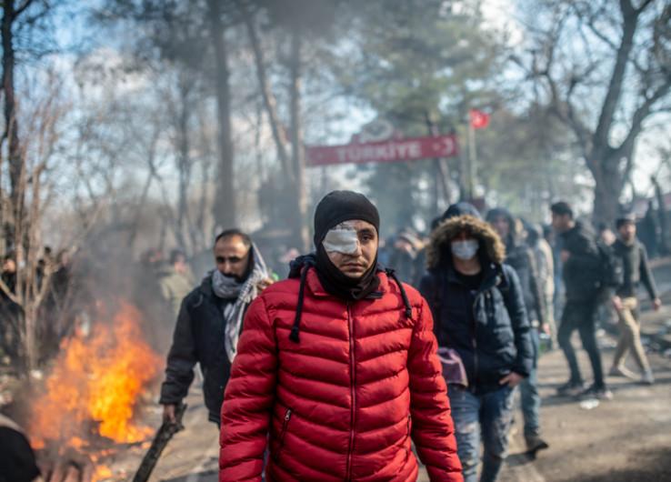 Hiljade migranata na granici