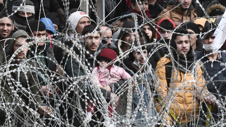 Migranti na granici - Avaz, Dnevni avaz, avaz.ba