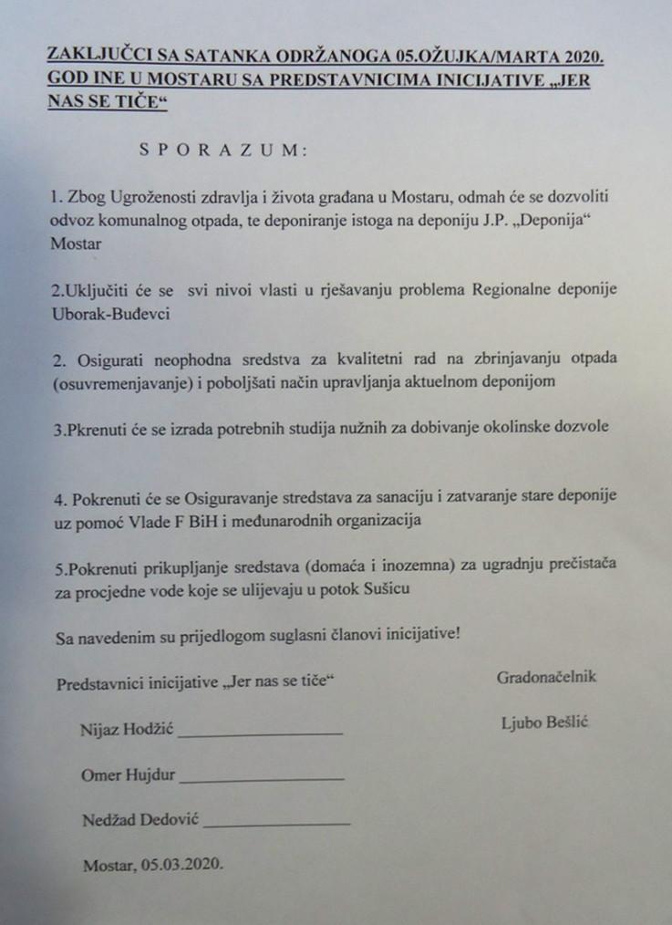 Ponudili sporazum