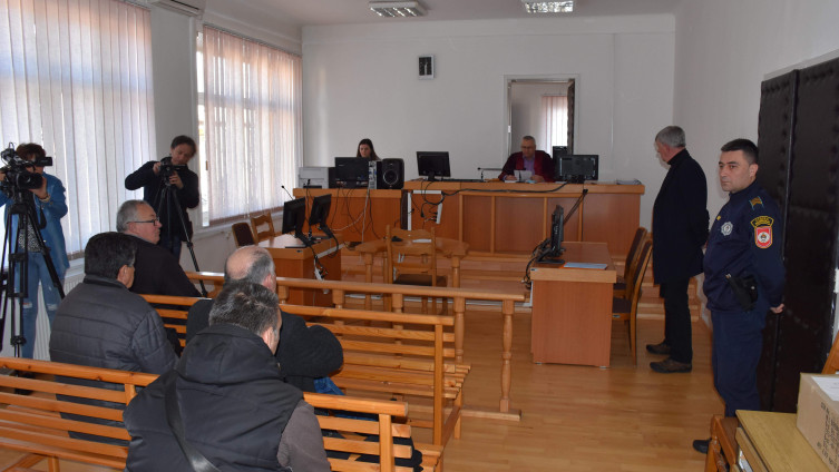 Izricanje presude u  sudu u Višegradu