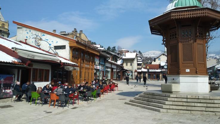 Današnja Baščaršija zaštitni je znak Sarajeva