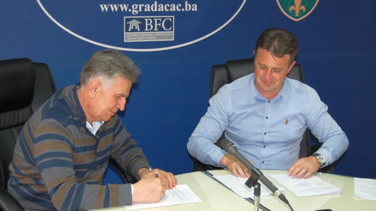 Dropić i Dervišagić potpisali ugovor